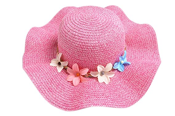 Aloiness Straw Sun Hats Hat Straw Beachcomber Cheap Foldable Wide Brim  Panama Summer for Fancy Dress ddb723a592b8