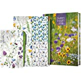 A5 Week-to-View Diary with Recipes, Pocket & Stickers Plus Pocket Diary, Pen, Notebooks & Pencil 2018 (Dairy Diary)