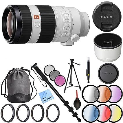 Amazon.com : Sony FE 100-400mm f/4.5-5.6 GM OSS Full Frame E-Mount ...