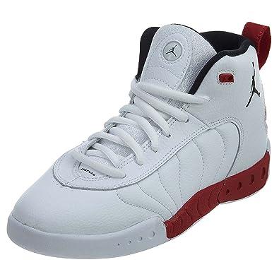 separation shoes f2918 2a517 Jordan Jumpman Pro White/Black-Gym Red (Little Kid) (12 M US Little Kid)