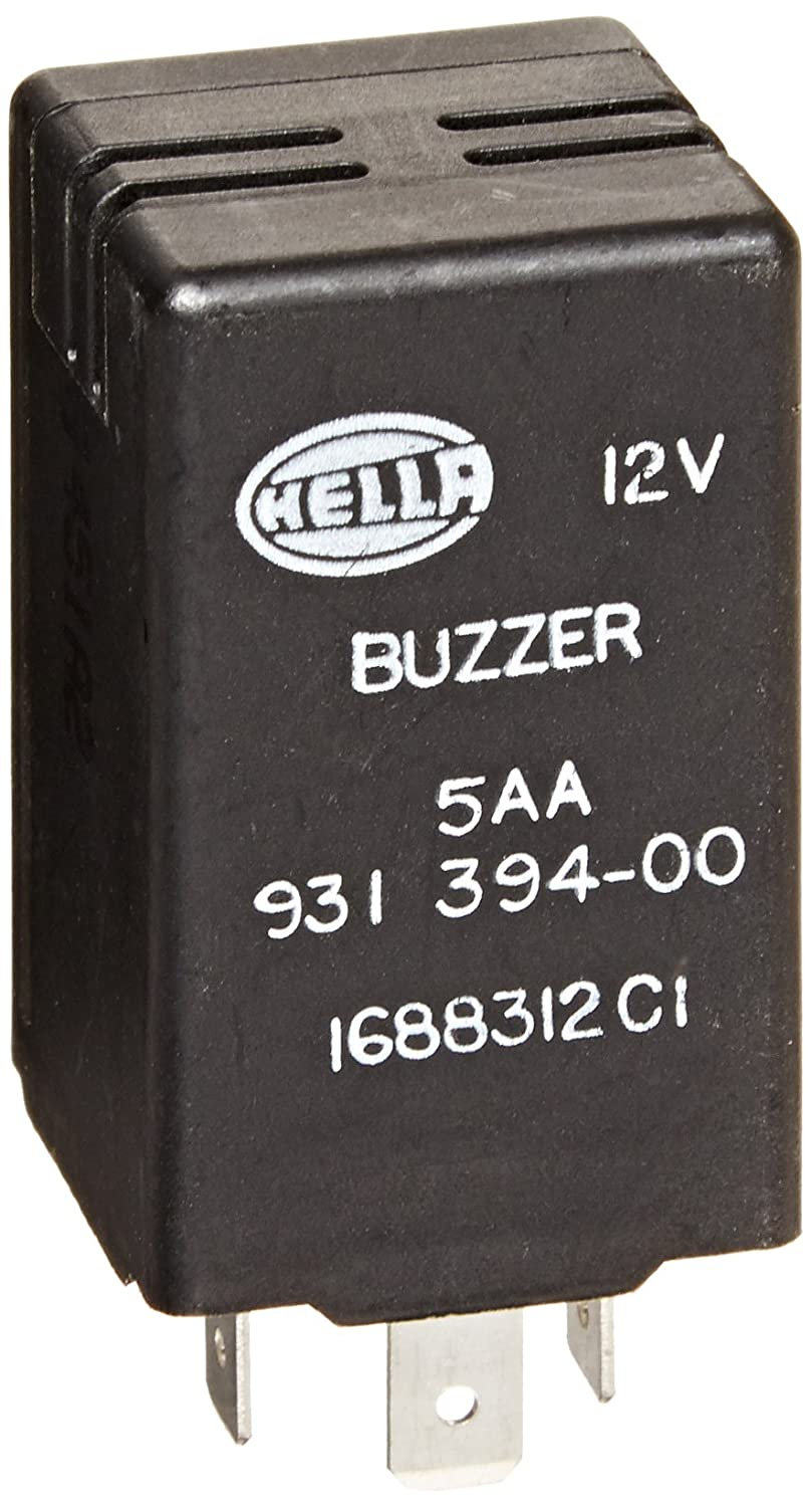 Hella 931394007 12v 3 Pin Dual Rate Buzzer Automotive Series Circuit With And Switch Also Ac To Dc Rectifier