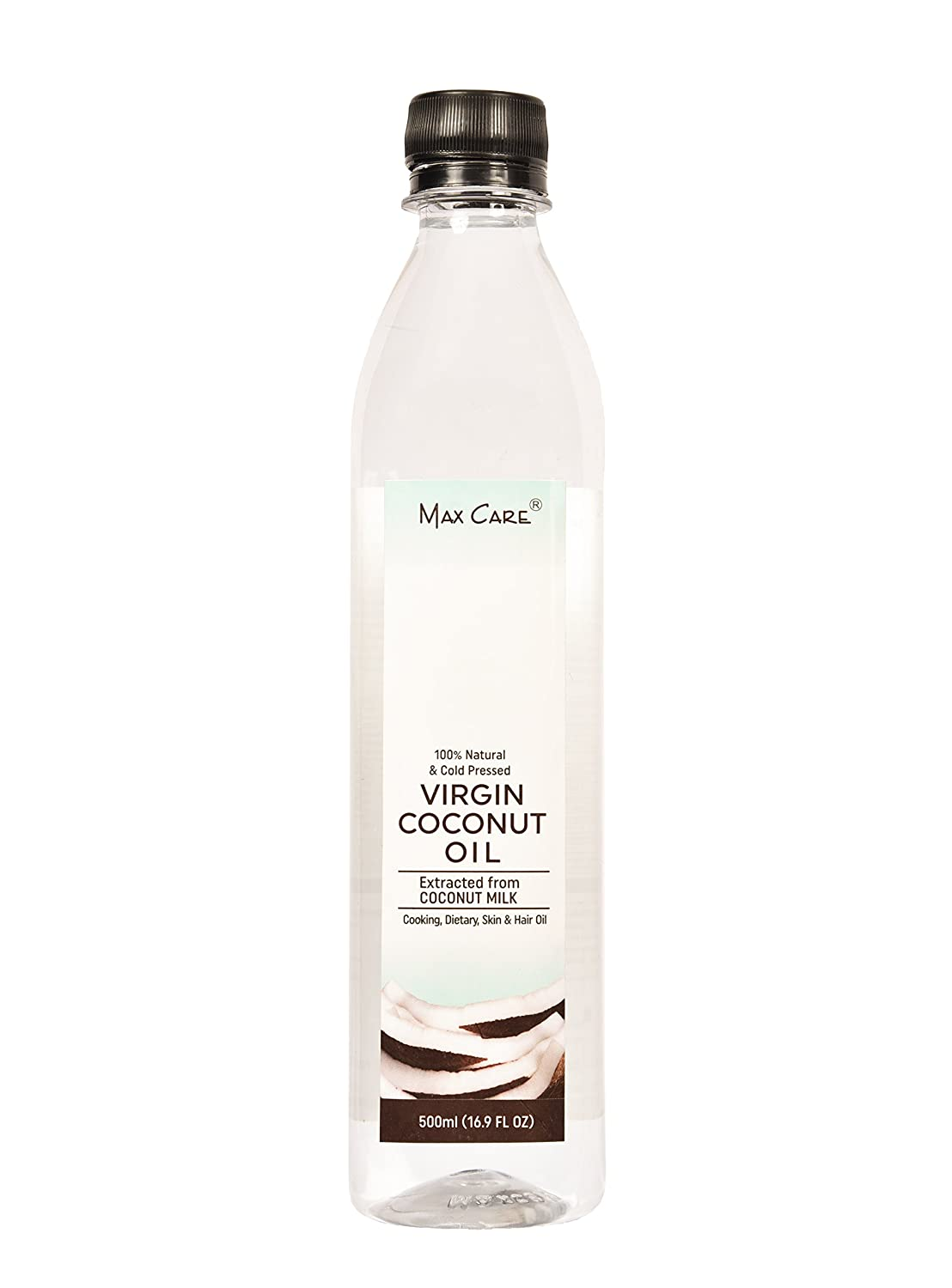 Max Care Cold Pressed Virgin Coconut Oil, 500ml