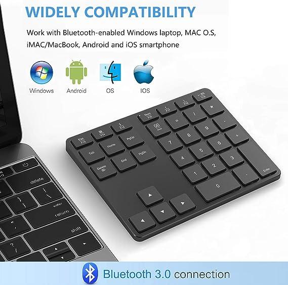 Numeric Keypads iMac Windows Laptop Surface Pro etc MacBook Air ...