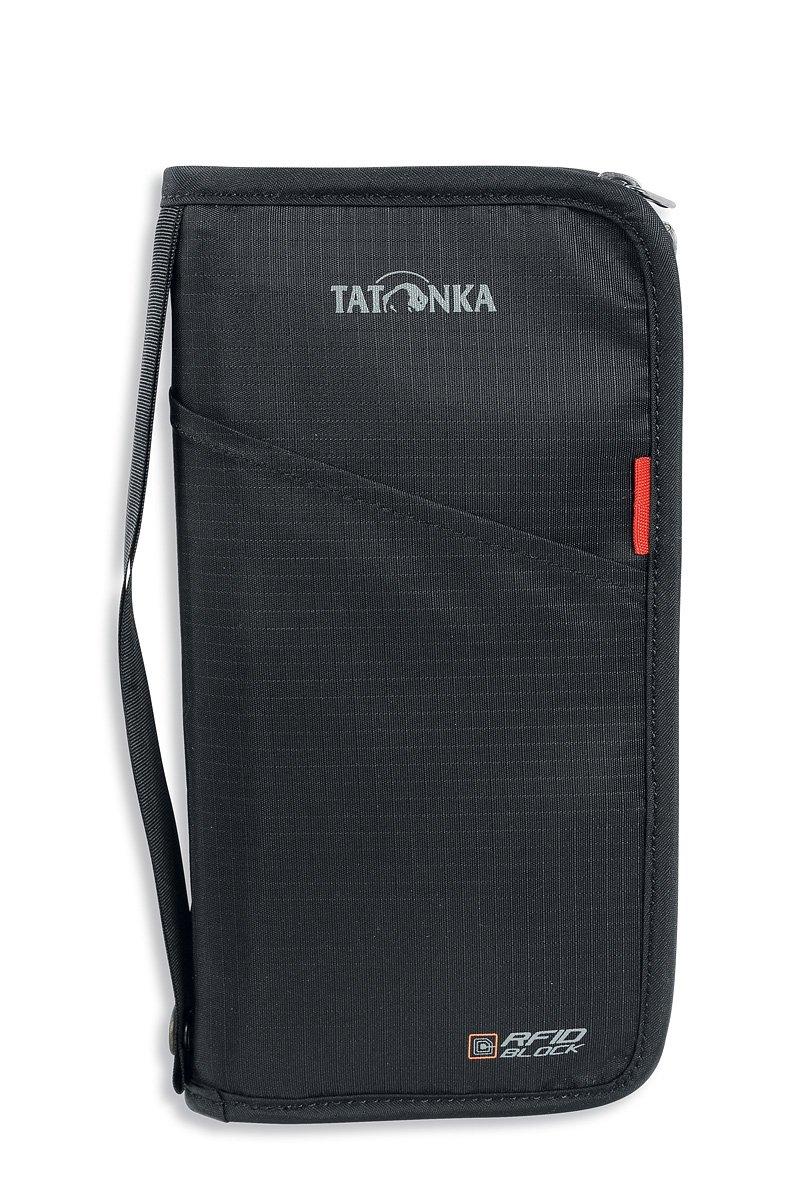 Tatonka 2957 - Borsa portadocumenti, Nero (nero), 23 cm