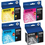 Epson T252XL120, T252XL220, T252XL320, T252XL420 High Yield Ink Cartridge Set - Epson WorkForce WF-3620