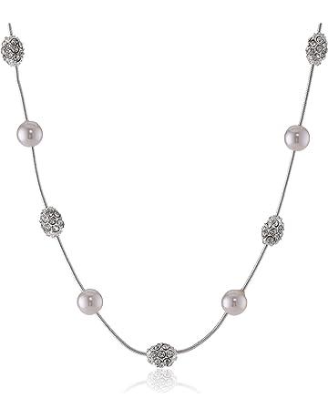 5170b5d19f2b7 Women's Pearl Strand Necklaces   Amazon.com