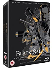 Black Sails: The Complete Collection (Seasons 1-4) [Steelbook]