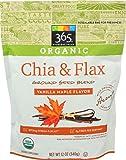 365 Everyday Value, Organic Chia & Flax Ground Seed Blend, Vanilla Maple Flavor, 12 oz