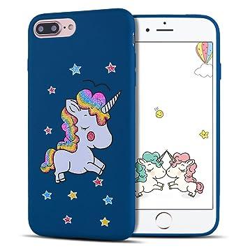 coque iphone 8 silicone licorne