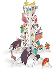 Roger la Borde Pop & Slot Frosty Forest Christmas Tree Advent Calendar