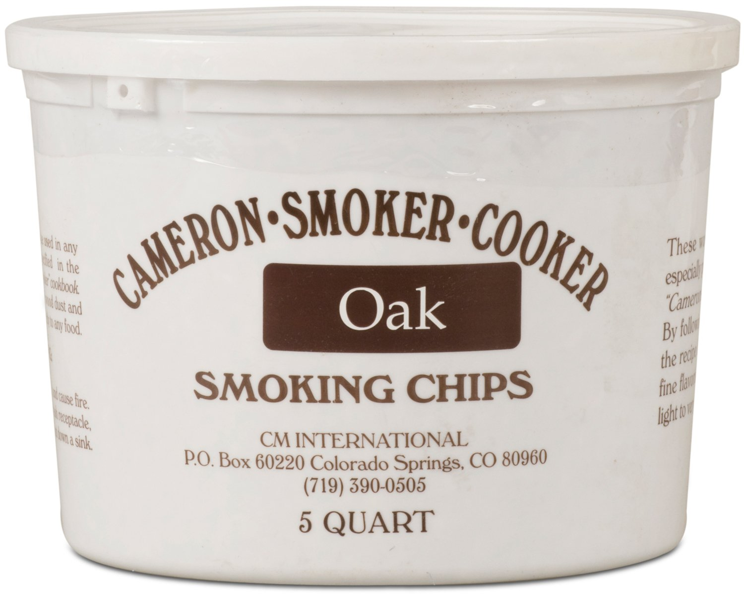 Cameron Oak Wood Chips (5 Qt)