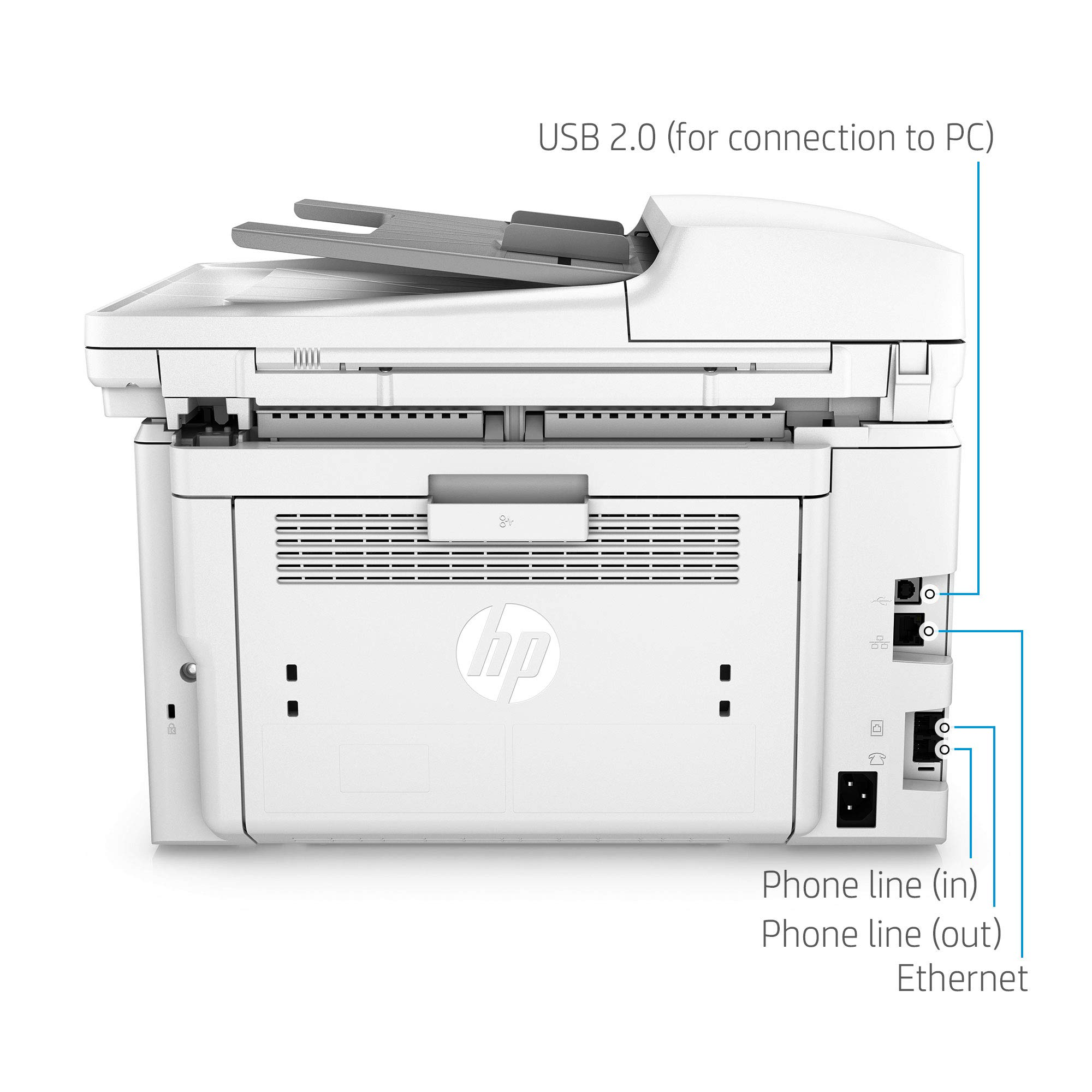 HP Laserjet Pro M148fdw All-in-One Wireless Monochrome Laser Printer with Auto Two-Sided Printing, Mobile Printing, Fax & Built-in Ethernet (4PA42A) by HP (Image #15)
