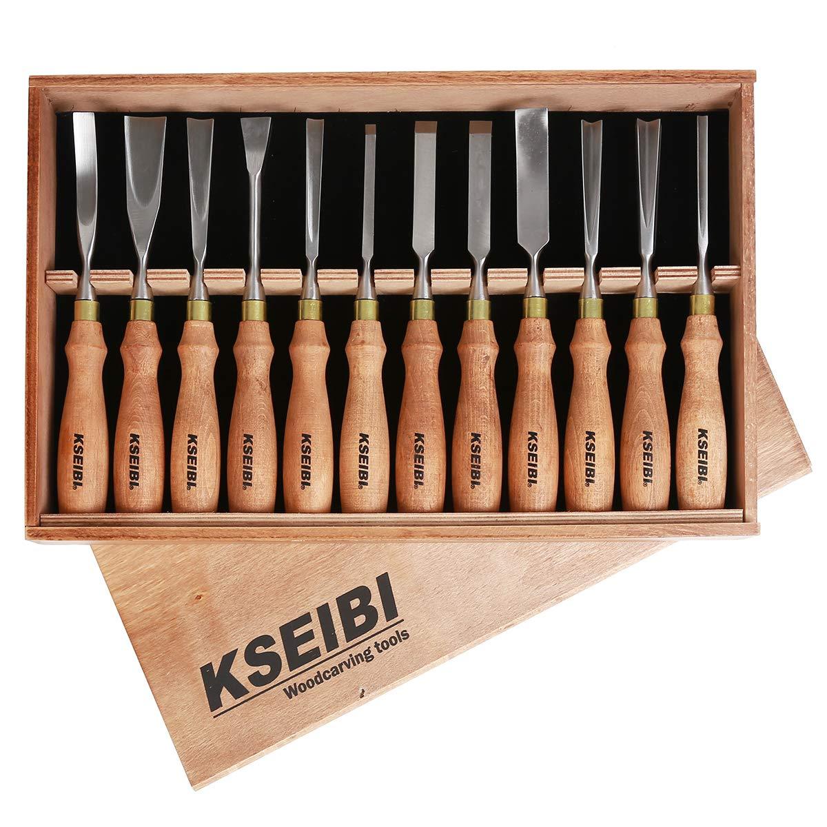 Amazon.com: KSEIBI 312141 - Juego de herramientas de tallado ...