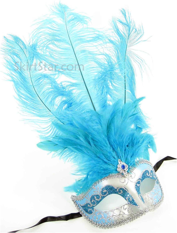 Amazon.com: Mascarilla de plumas para mujer de Largemouth ...