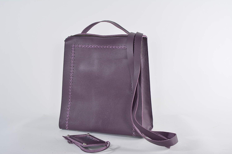 Amazon.com  handmade leather backpack convertible purse handbag crossbody  bag  Handmade b234662b97754