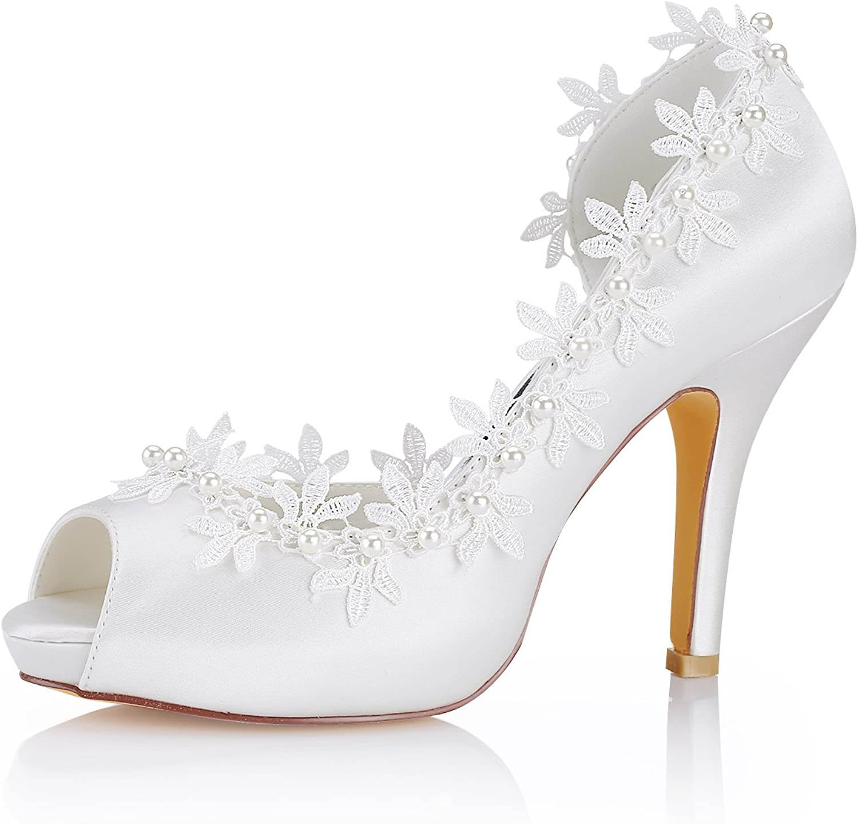 Ivory High Heels