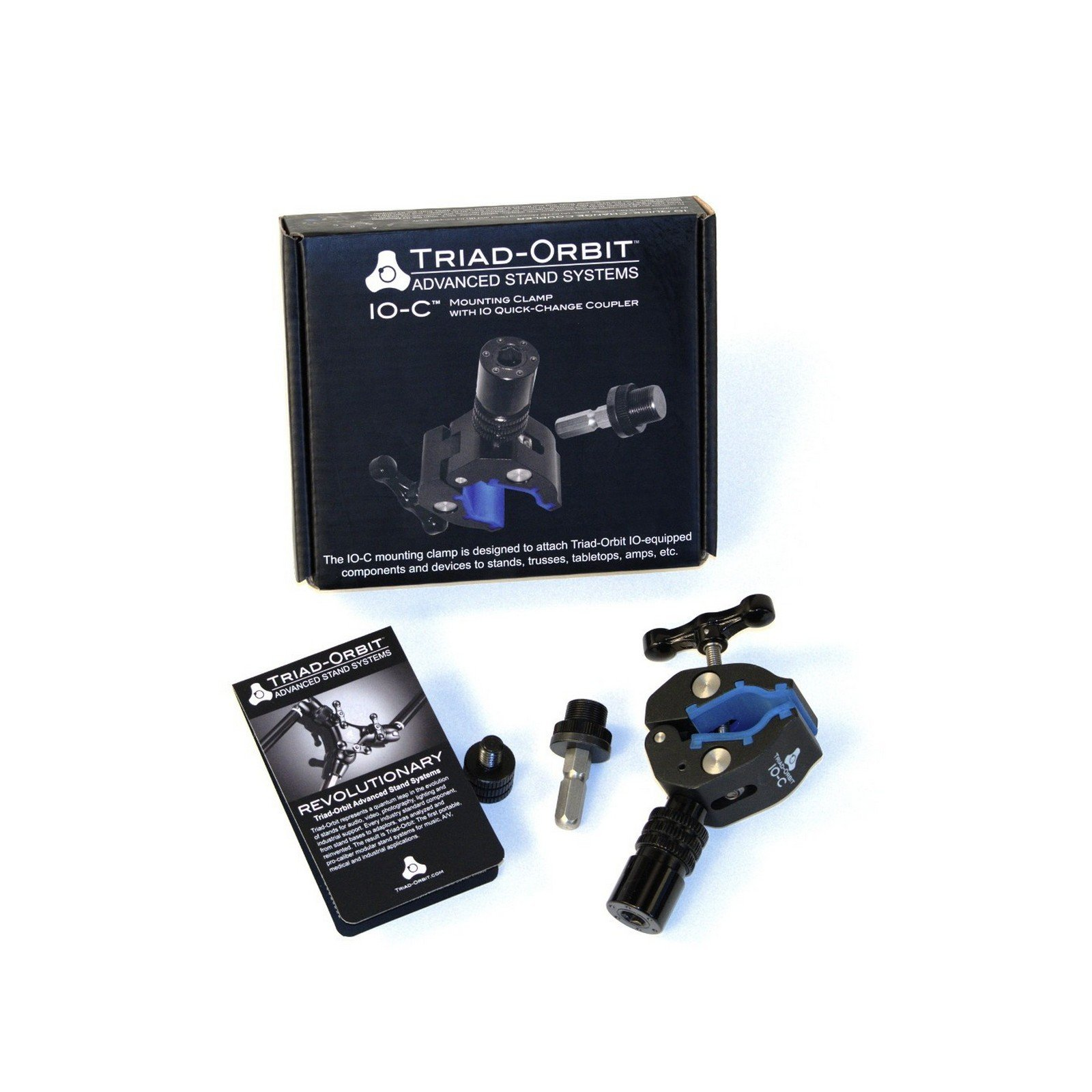 Triad Orbit IO-C | Mounting Clamp with Quick Change Coupler