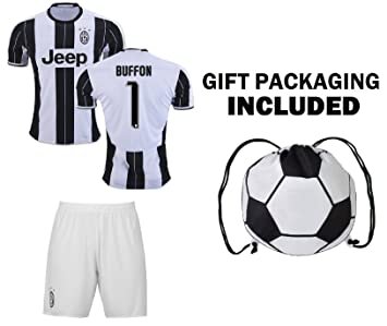 online store dc5ed 1692e Fan Kitbag Juventus Dybala #21 / Higuain #9 / Buffon #1 Soccer Jersey &  Shorts Kids Youth Sizes ✓ Soccer Backpack INCLUDED