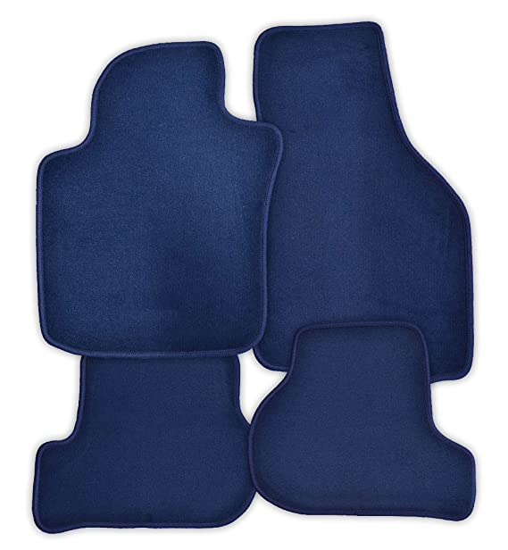 Velours schwarz Fußmatten passend für SKODA OCTAVIA 1 1U 96-10