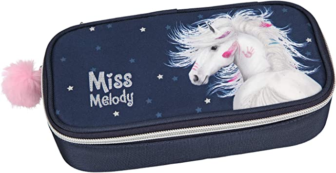 TOP MODEL- Estuche tubular Miss Melody azul (0010593), Multicolor (DEPESCHE 1): Amazon.es: Juguetes y juegos