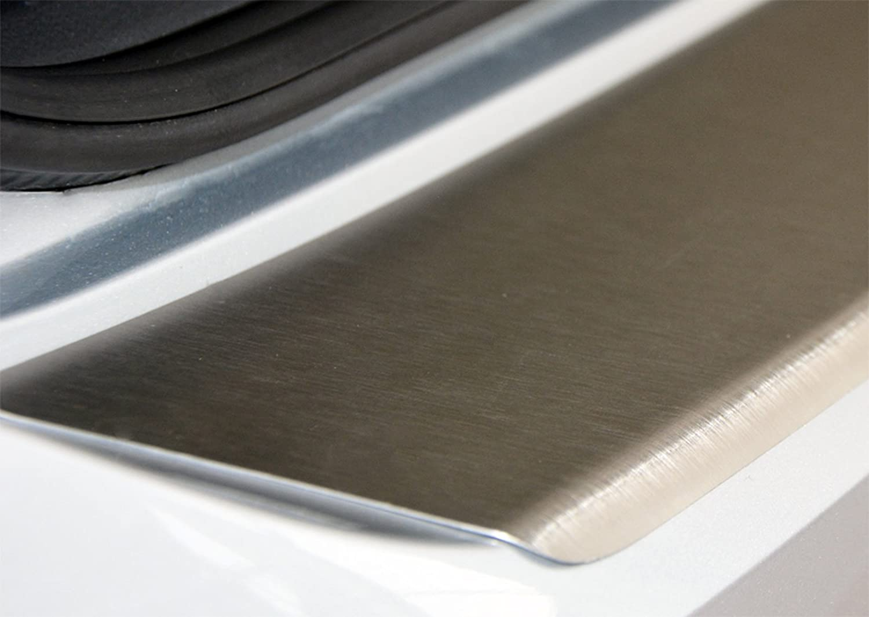 WGS Ladekantenschutz Sto/ßstangenschutz Lackschutz mit ABKANTUNG aus AluNox/® 1023-502