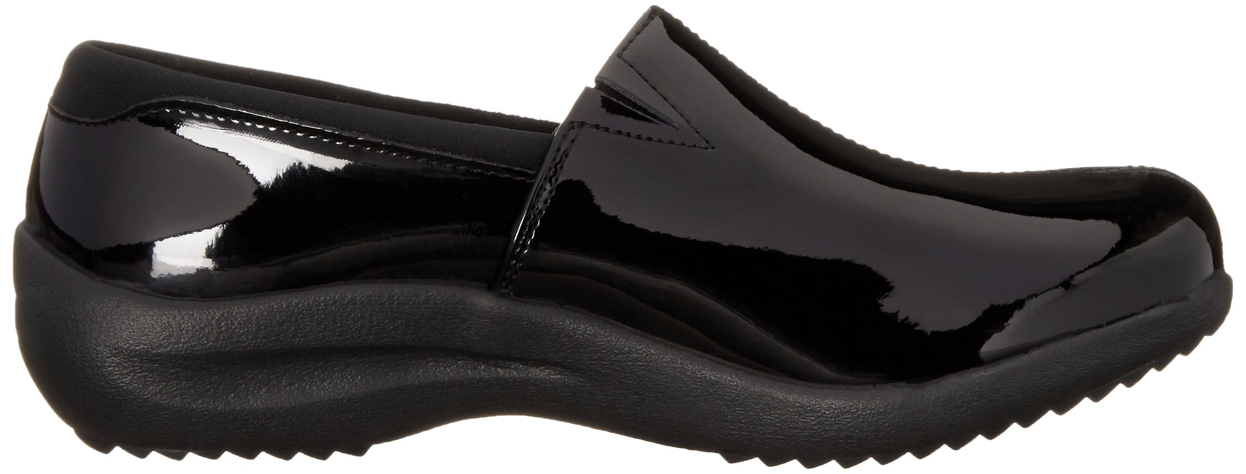 Skechers Women's Savor singular Mule, Black Patent Leather, 6 M US by Skechers (Image #7)