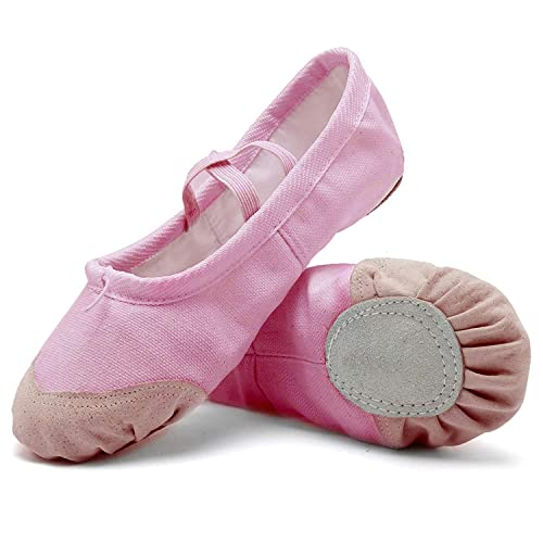 Amazon.com: Stanpetix Zapatos de Ballet de Algodón y Piel ...