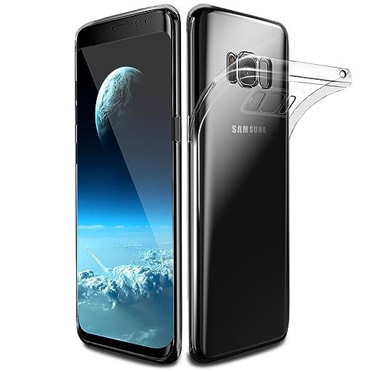 25 opinioni per Custodia Galaxy S8, Infreecs Samsung Galaxy S8 Silicone Caso Molle di TPU