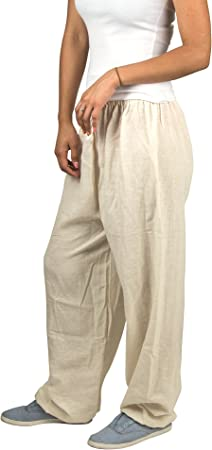 TribeAzur Cotton Harem Pants Loose White Hippie Boho Gypsy Casual Summer Beach