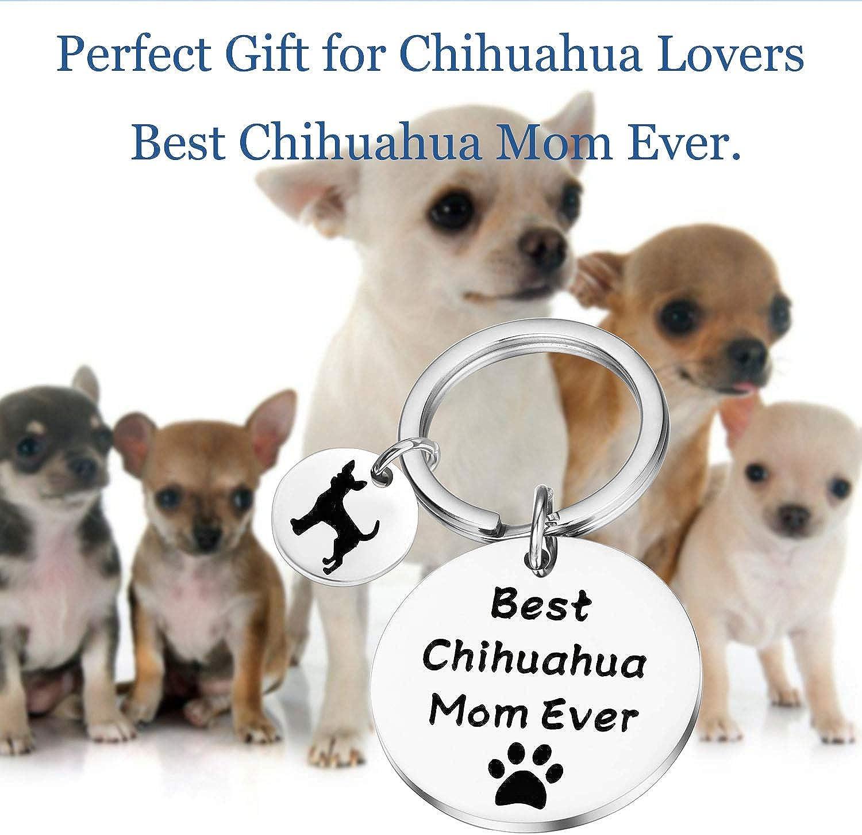 Lywjyb Birdgot Chihuahua Lover Gifts Chihuahua Dog Gifts Pet Dog Lover Gift Puppy Gifts Chihuahua Mom Gift for Chihuahua Lovers Best Chihuahua Mom Ever Gifts