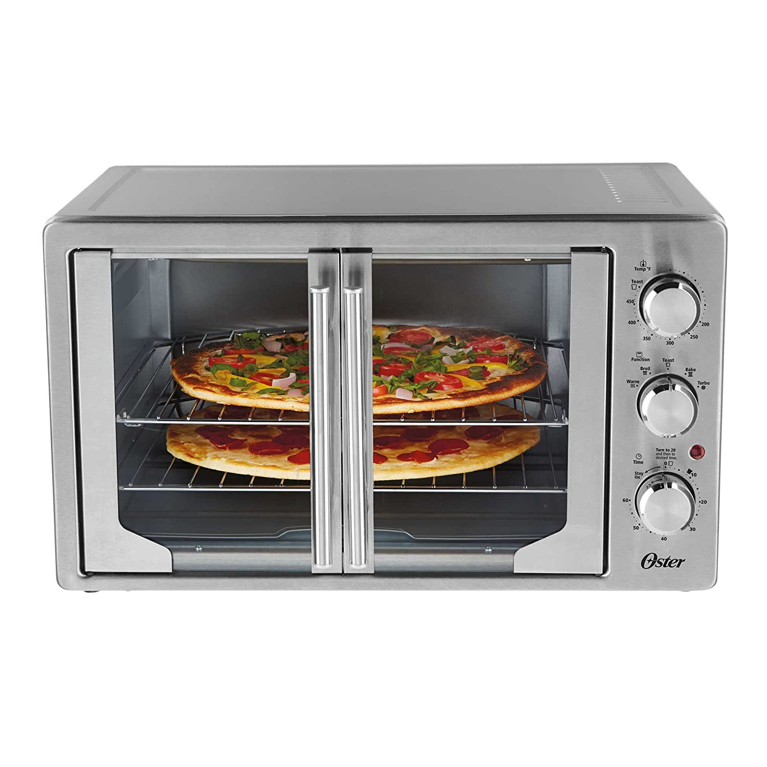 Amazon.com: Oster TSSTTVFDXL French Door Oven With Convection: Kitchen U0026  Dining