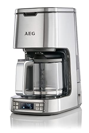 Great AEG 7 Series Digital Filter Coffee Machine, 1100 W   Stainless Steel