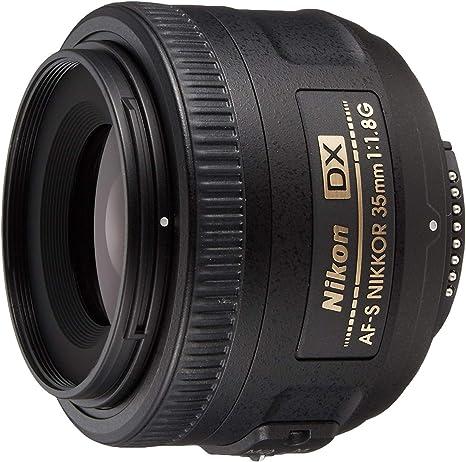 Nikon AF-S Nikkor - Objetivo con Montura para Nikon (35 mm, f/1.8 ...