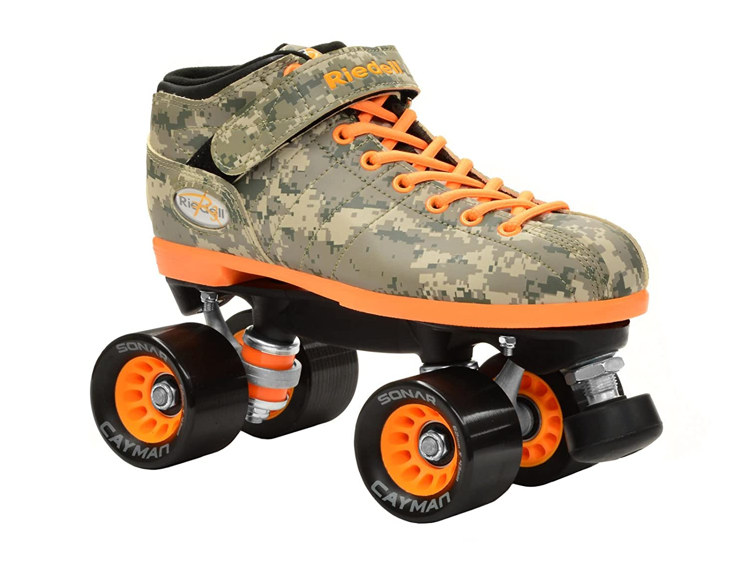 新しいRiedell r3デジタルカモQuad Roller DerbyスピードSkates Mens 7 / Ladies 8 R Dart  Mens 7 / Ladies 8