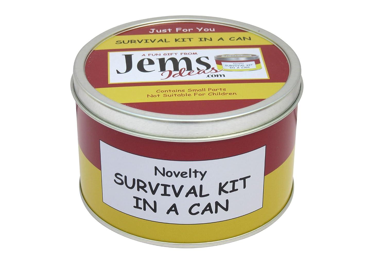 Survival Kit In A Can, kit di sopravvivenza personalizzabile in lattina (con scritte in lingua inglese) per futuri mamma e papà Divertente regalo per neo genitori o futuri mamma e papà. Ottima idea regalo per feste pre nascita e per congratularsi per l'arr
