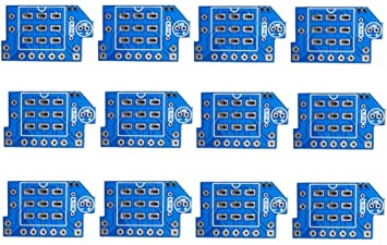 Super 10 Pcs 3Pdt Wiring Footswitch Pcb Board Amazon Ca Musical Wiring 101 Orsalhahutechinfo