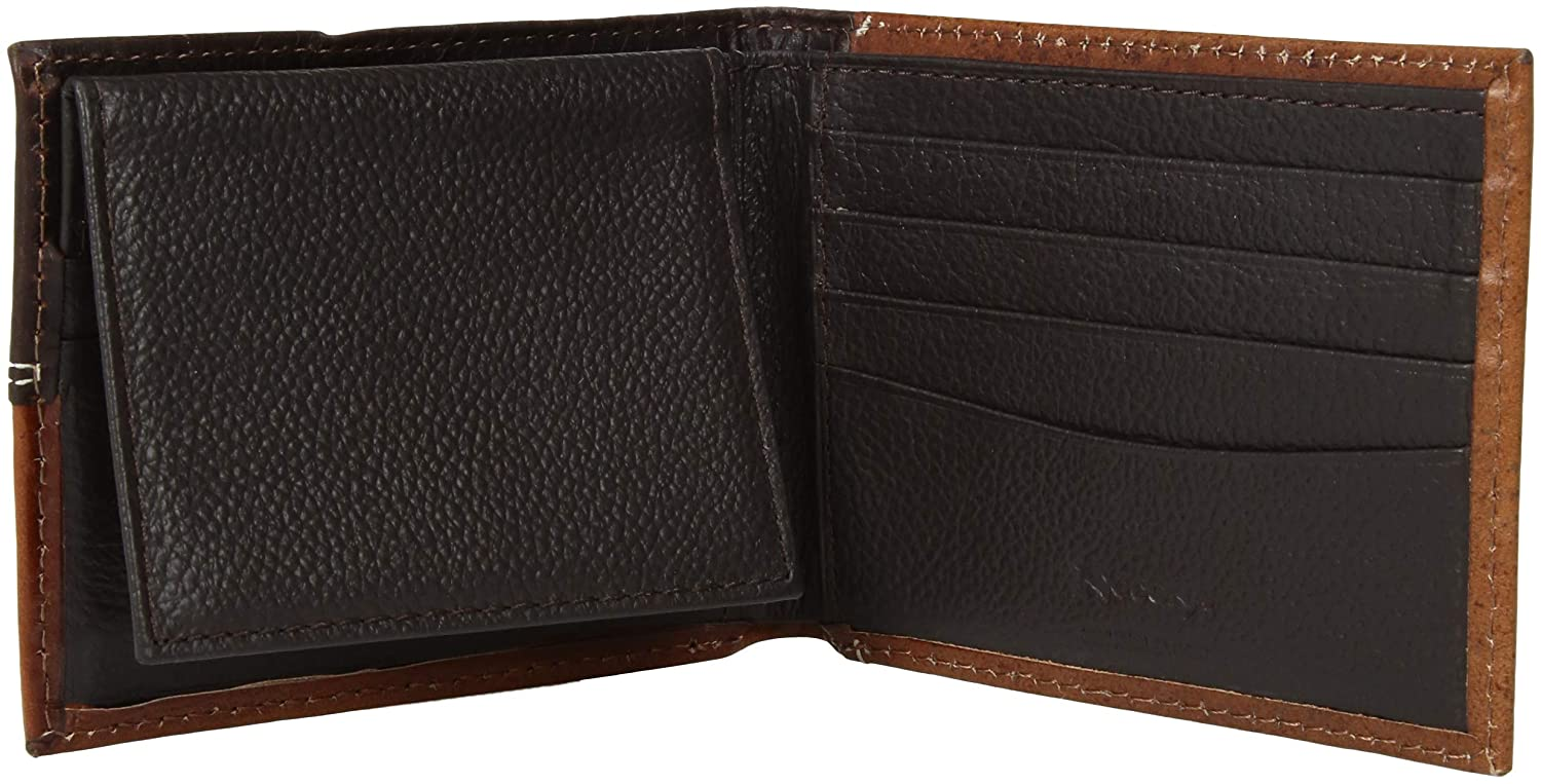 Nocona Mens Bifold Cross Concho Wallet