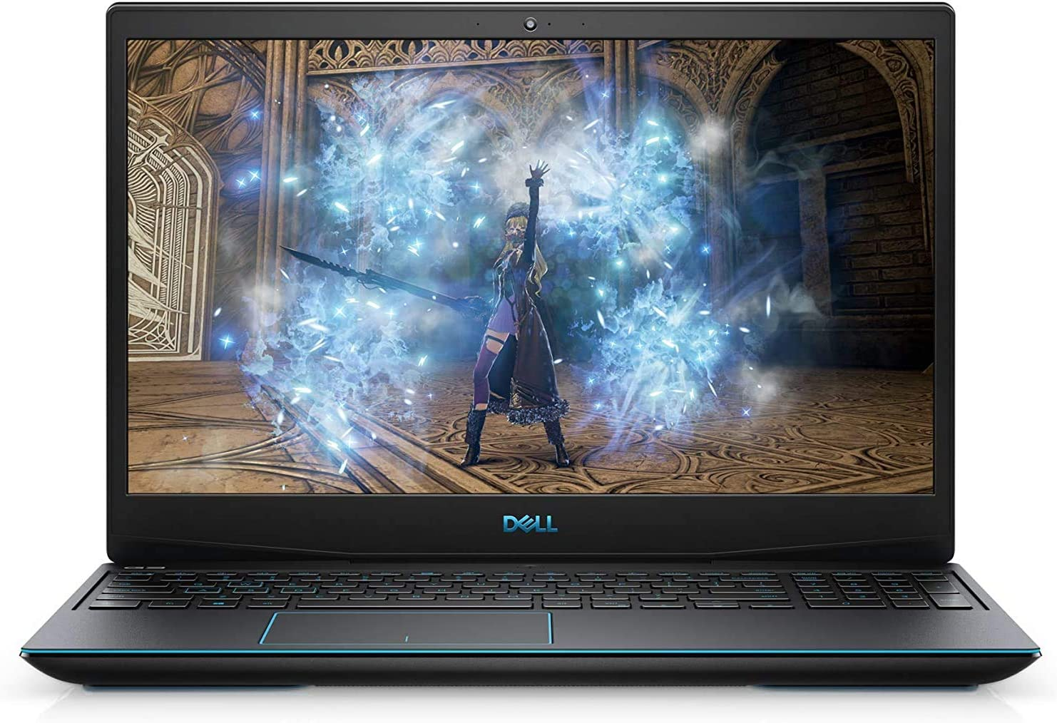 "Dell G3 15 15.6"" FHD (1920x1080) 220nits Anti-Glare Gaming Laptop, Intel Core i5-10300H up to 4.5GHz, 16GB RAM, 1TB HDD+256GB SSD, NVIDIA GTX 1650 (4GB GDDR6), HDMI, Backlit Keyboard, Windows 10"