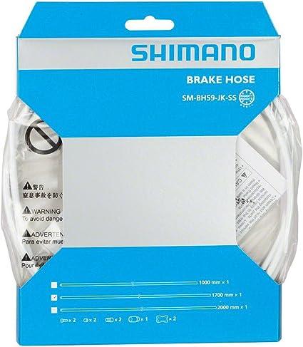Shimano SM-BH59-JK-SS 1700mm Disc Brake Hose Kit White