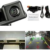 AUDEW HD 高画質 リアカメラ BMW 専用バックカメラ キット CCDカメラ BMW E82 E88 E84 E90 E91 E92 E93 E60 E61 E70 E71 E72 ブラック