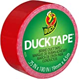ShurTech Mini Duck Tape, 0.75 x 180-Inches, Red