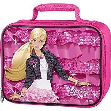 0be95ad2400d Image Unavailable. Image not available for. Color  Thermos Barbie Soft  Lunch Kit