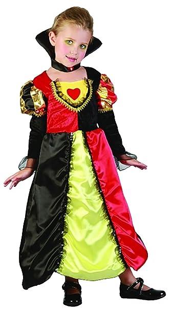 rimi hanger girls toddler queen of hearts costume kids fancy parties dress book week outfit under