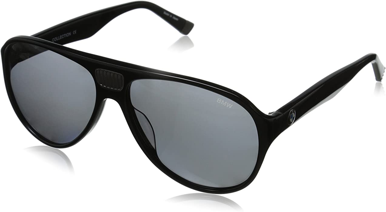 7ed412895e Amazon.com  BMW B6512 Polarized Aviator Sunglasses