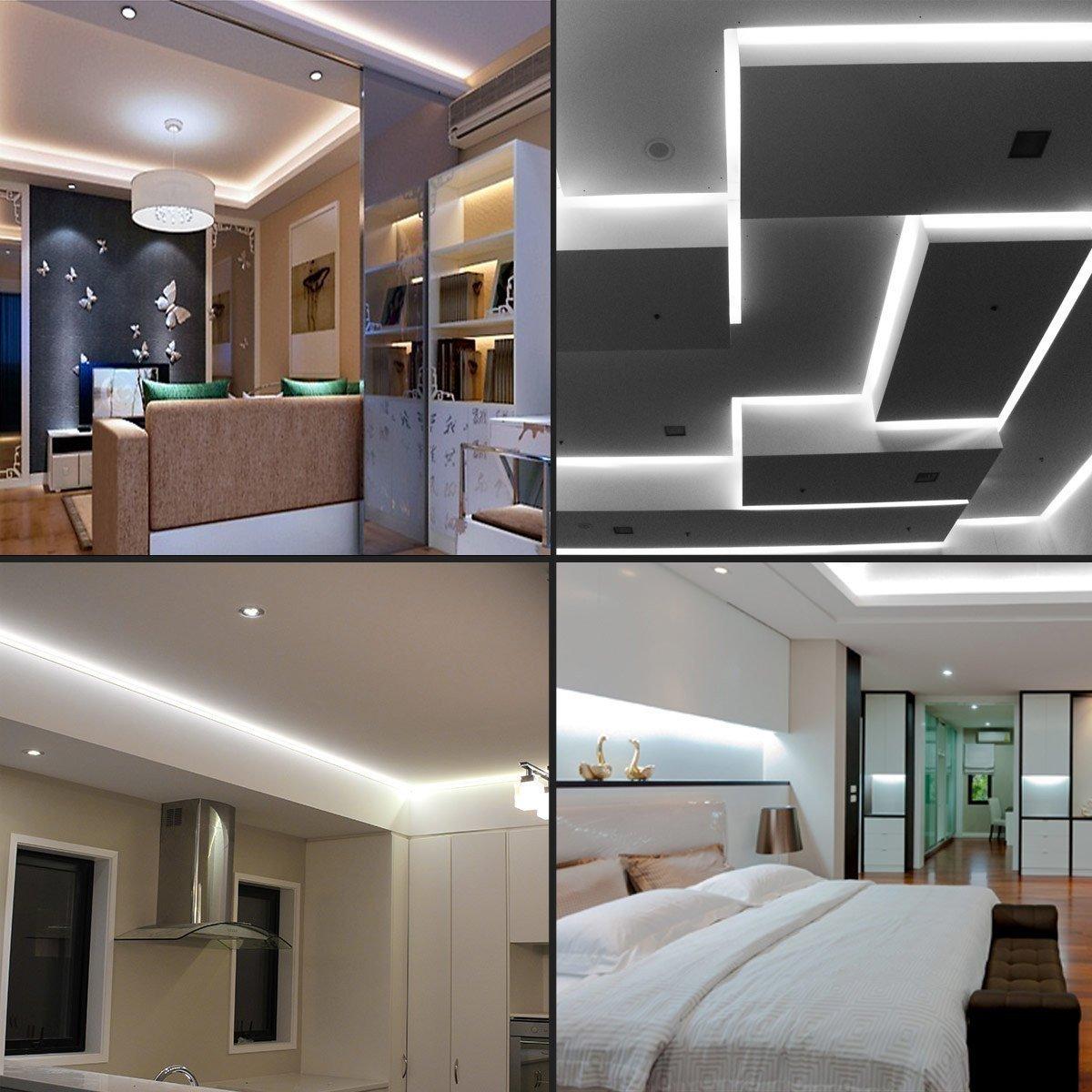 SUAVER Flexible LED streifen Licht, Wasserdichte LED Band 5M SMD3528 ...