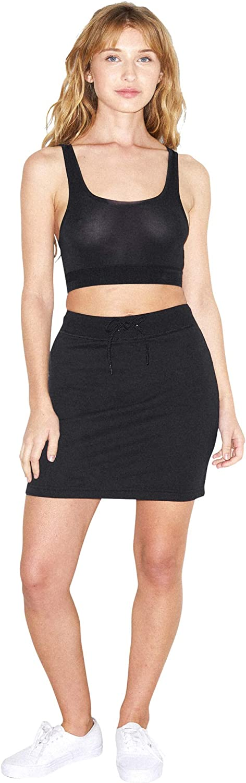 American Apparel Women's California Fleece Skirt