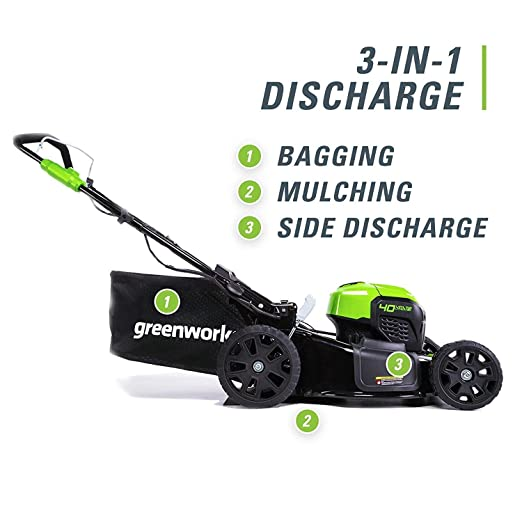 Amazon.com: Greenworks - Cortacésped autopropulsado sin ...