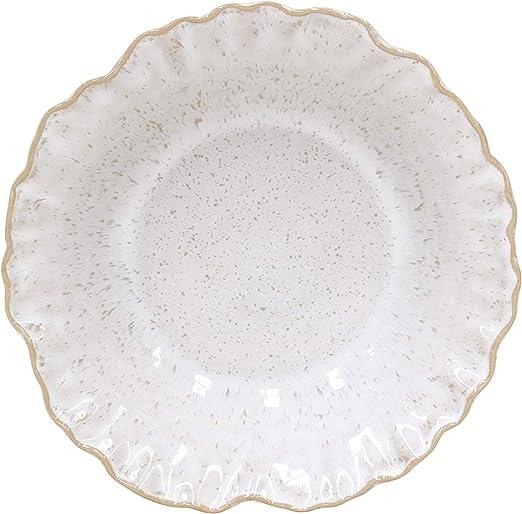 Sand Casafina Stoneware Ceramic Dish Majorca Collection Salad Plate 8.75
