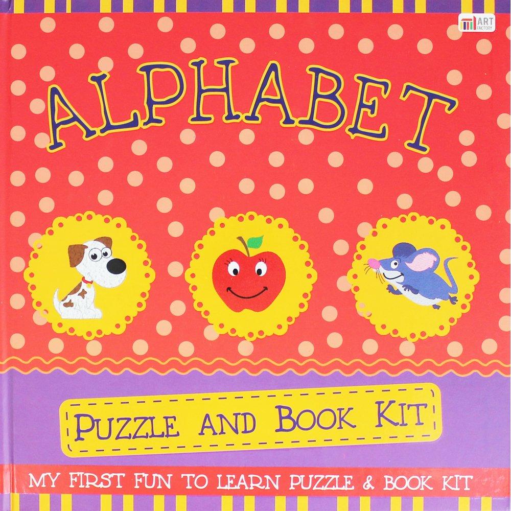 JJ Imprints Alphabet - Puzzle and Book: Amazon.co.uk: Kitchen & Home
