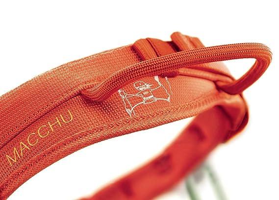 Mammut Klettergurt Anziehen : Petzl kinder klettergurte macchu orange one size amazon sport